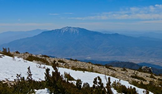 San Gorgonio, San Gorgonio peak, San Gorgonio Wilderness, hike, hiking, San Jacinto peak, San Jacinto Mountain, Vivian Creek, Vivian Creek trail, San Jacinto Hiking Club, snow patches, snow,