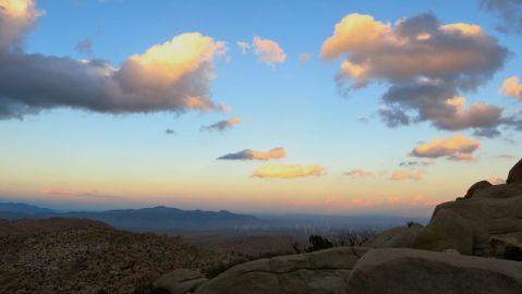 mortero palms trail, goat canyon trestle, anza-borrego desert state park, hike, camping, desert hike, desert, sunset, sunset glow,