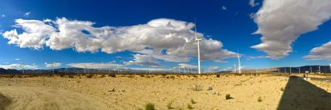 mortero palms trail, goat canyon trestle, anza-borrego desert state park, hike, camping, desert hike, desert, wind turbines,
